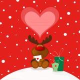 Élans de Noël Photo stock