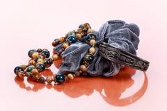 Élastique de collier, de bracelet et de cheveux Image libre de droits