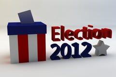 Élection 2012 Images libres de droits