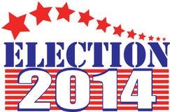 Élection 2014 illustration libre de droits
