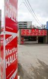 Élection Canada photographie stock libre de droits