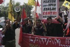 élection d'actions d'étudiant en droit de démenti images libres de droits