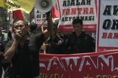 élection d'actions d'étudiant en droit de démenti photographie stock libre de droits