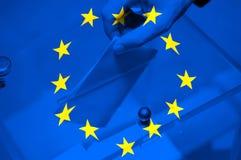 Élection d'Union européenne images stock