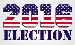 Élection 2016 des Etats-Unis Photo libre de droits