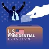 Élection présidentielle 02 des USA Photos stock