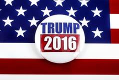 Élection présidentielle de l'atout 2016 Photos stock