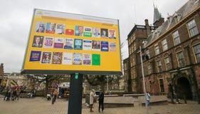 Élections de mars 2017 - la Haye Photographie stock libre de droits