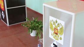 Élections en Russie banque de vidéos