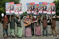 Élections présidentielles d'Obama et de McCain Photographie stock libre de droits