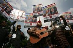 Élections présidentielles d'Obama et de McCain Photos stock