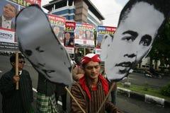 Élections présidentielles d'Obama et de McCain Images libres de droits