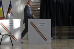 Élections Roumanie Klaus Iohannis Photo libre de droits