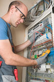 Électricien Photos libres de droits