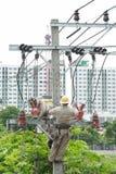 Électricien Photographie stock
