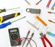 Électricien du travail photo libre de droits