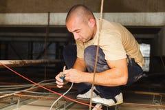 Électricien Fixing Devices Photo libre de droits