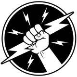 Électricien Symbol Images stock