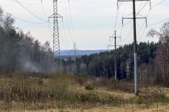 électrification Photos libres de droits
