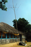 Électrification de village Photo libre de droits