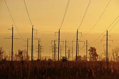 Électrique et à énergie solaire Photos libres de droits