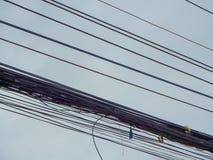 Électrique multiplex de confusion Image libre de droits