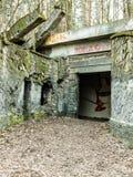 Électro bâtiment abandonné de station Images stock