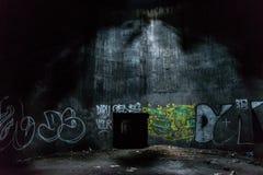 Électro bâtiment abandonné de station Images libres de droits