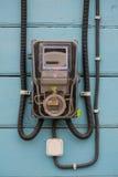Électro compteur Photographie stock