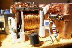 Électro-magnétic Photos libres de droits