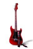 électro rouge de guitare Image libre de droits
