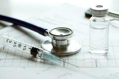 Électrocardiographe Photos libres de droits