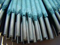 Électrodes de soudure Image stock
