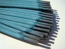 Électrodes de soudure Photo stock
