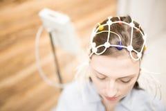 électroencéphalogramme Photographie stock libre de droits