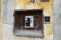 Électromètre de vintage Images libres de droits