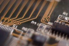 Électronique, circuit, panneau Images stock