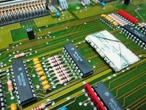Électronique et argent Technologie et finances Photos stock