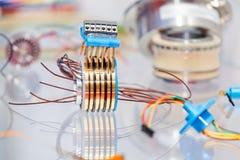 Électronique pour le moteur Images stock