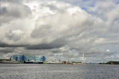 Électroniquement Stralsund réversible est Image libre de droits
