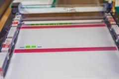 électrophorèse Images stock