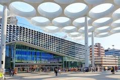 ` Élevé de Hoog Catharijne de ` de centre commercial, Utrecht photo stock
