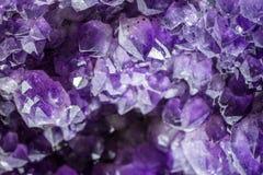 Élevage de cristaux noir pourpre Singapour Photo libre de droits