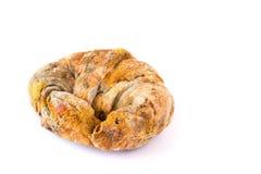 Élevage rapidement sur le pain moisi Photographie stock