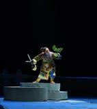 """Élevez-vous jusqu'au dessus du  de teenager†de Pékin Opera""""Yue des colline-enfants Photographie stock libre de droits"""