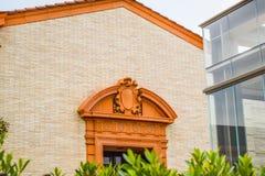 Élevez Wallis Annenberg Center pour les arts du spectacle Photo stock
