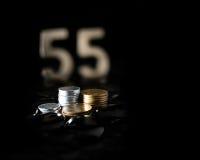 Éligibilité privée de pension Photographie stock