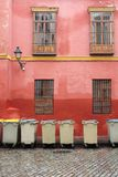 Élimination des déchets de ville Photo libre de droits