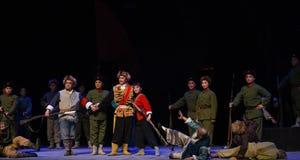"""Éliminez l'opéra de victoire-Pékin de bandits """"Taking le  de € de Tiger Montain By Strategyâ images stock"""