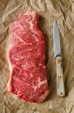Éliminez le bifteck d'échine Image libre de droits